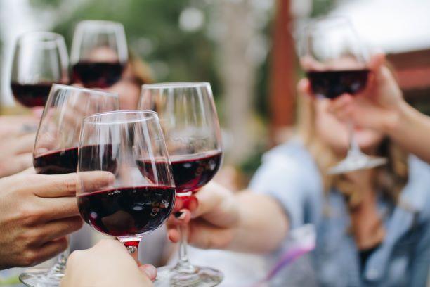 multiple wine glasses