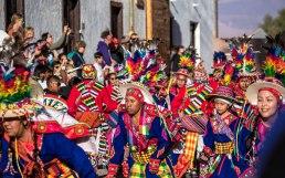 Ladies of the Quechua dance
