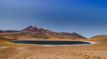 Laguna Miscanti & Volcano Miñiques