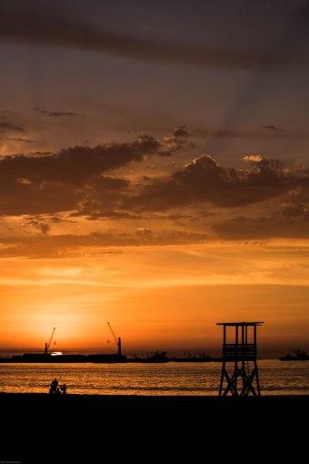 Sunset Arica