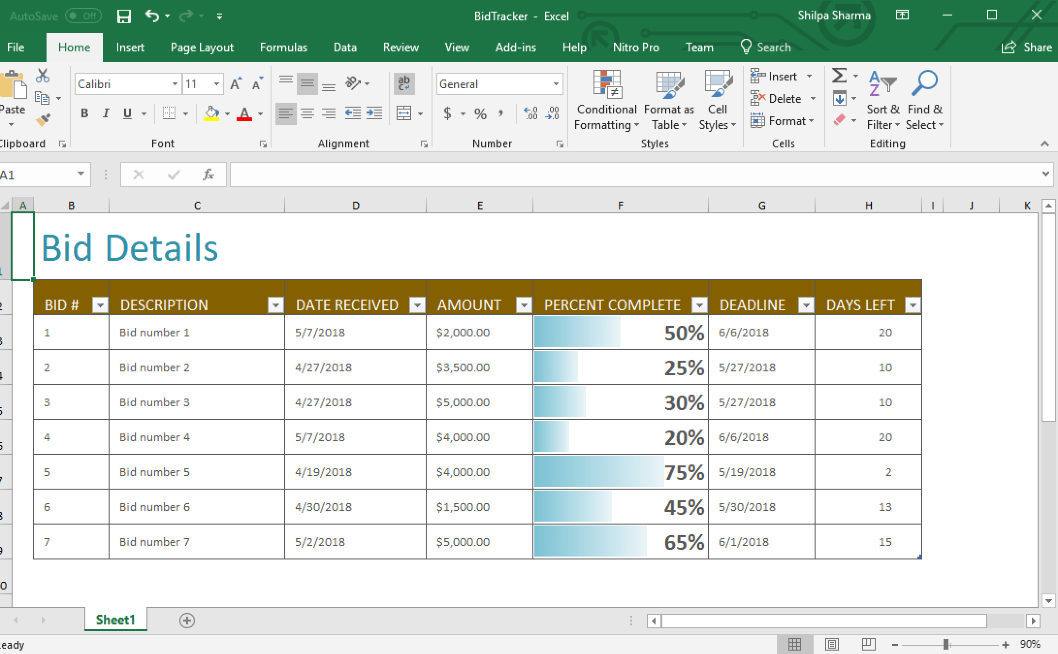 Creating Excel Documents Using A Server Side Excel Api For