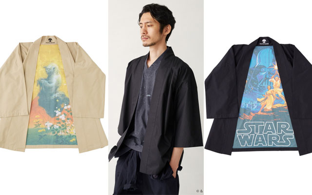 The Force Bridges Traditional And Casual With Star Wars Themed     The Force Bridges Traditional And Casual With Star Wars Themed Japanese  Summer Wear     grape Japan