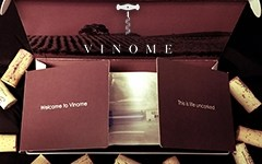 Vinome's Kit to sample your DNA