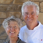 Chef William Carter and his wife/partner Katherine Bloxom-Carter