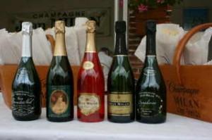 Champagne weekend - Milan Bottles