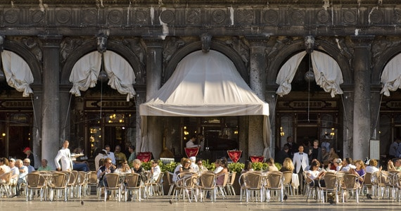 Venice Prosecco Tour - Credits Caffe Florian