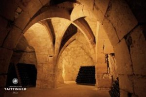 Champagne Holidays- Taittinger Cellars