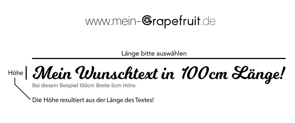 Bestseller Individueller Wunschtext aus Holz in Wunschfarbe