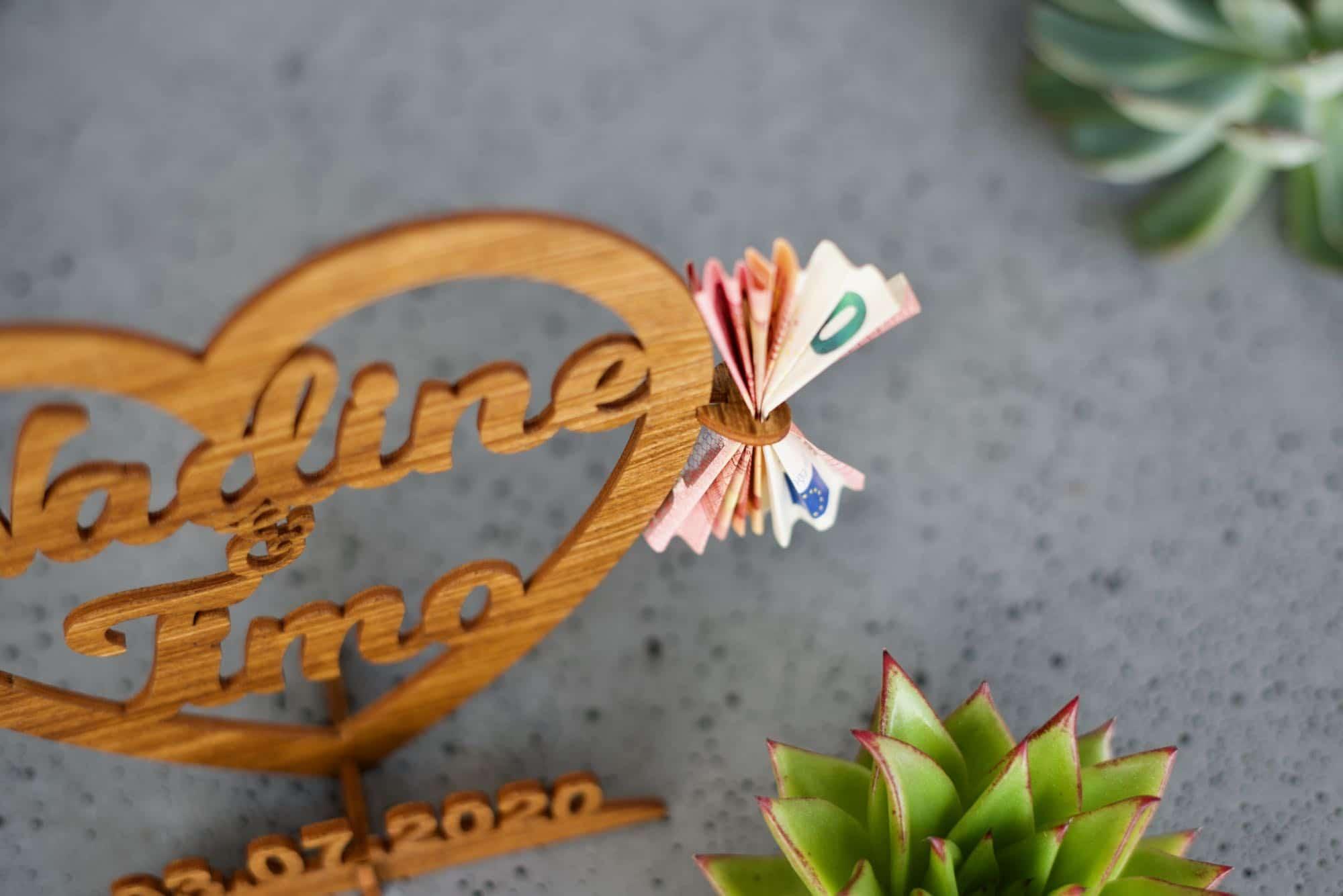 Personalisierte Hochzeitsgeschenk Holz Rezept Box Etsy