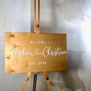 Zubehör Staffelei zur Hochzeit, Geburtstage, Veranstaltung
