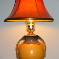 Roseville Pottery Table Lamp
