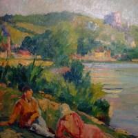 """""""La Seine aux Andelys"""""""