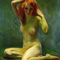 The Pensive Nude