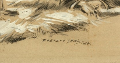 The artists signature and date lower left