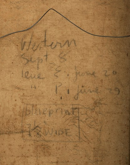 "Print notations on verso for publication usage ""Western -Sept. 8 """