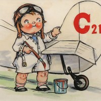 Campbell's Soup Kid Aviator
