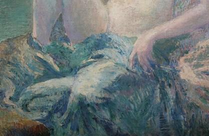 Detail of impasto technique