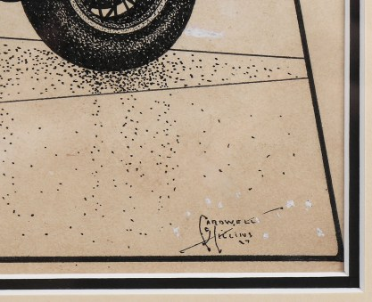 The artist's signature and date '27 lower right