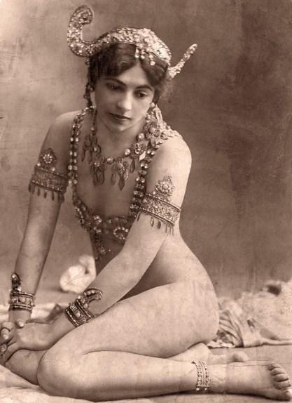 The real life Mata-Hari in a period photograph