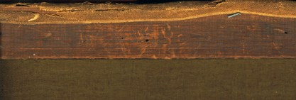 Publisher's notations on old stretchers