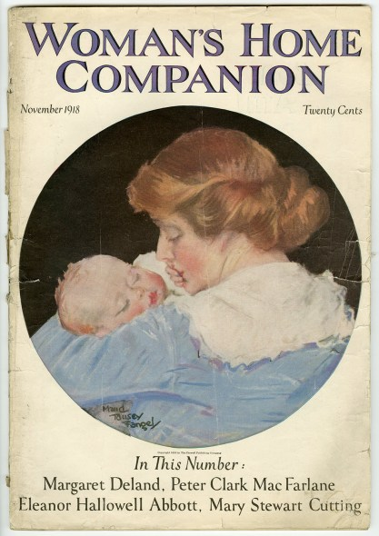 November 1918 edition of a Woman's Home Companion, featuring Drumheads and Dairymaids.