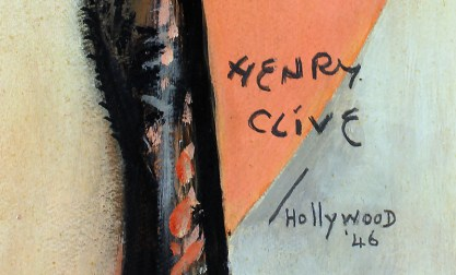 The artist's signature and date  '46 lower right