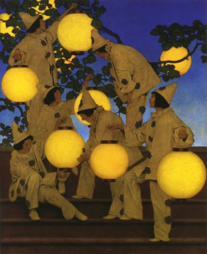 Maxfield Parrish's The Lantern Bearers
