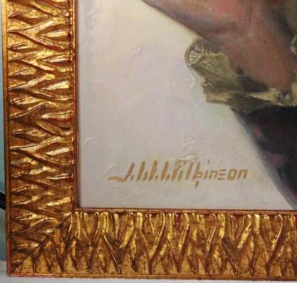 Framed profile corner detail