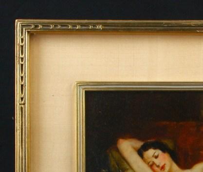 Detail of handsome frame