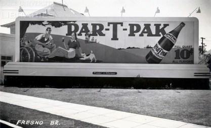 Nehi Ginger Ale in the Par-T-Pak vintage billboard display