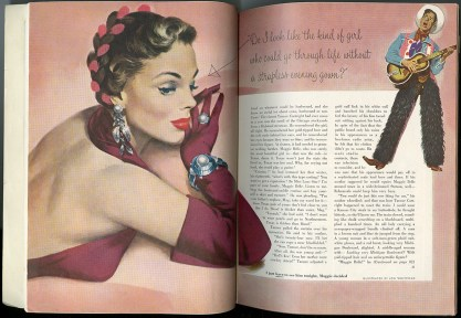 As seen in Cosmopolitan Magazine's January 1951 issue