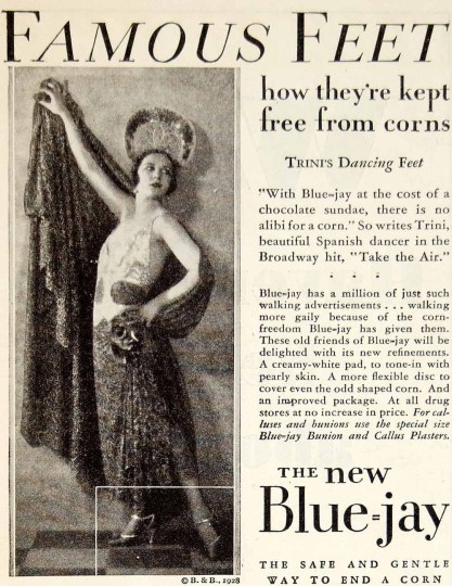Trini, as seen in a 1928 advertisement.