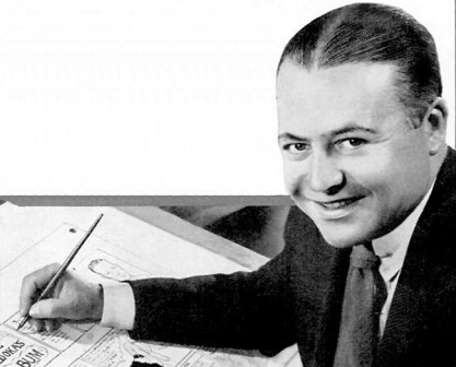 A 1930s publicity photo of cartoonist Ham Fisher