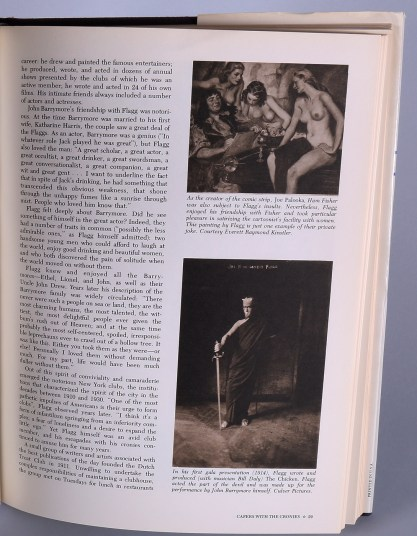 """The artwork as it appears on page 29 in the hardcover book - """"James Montgomery Flagg"""" by Susan E. Meyer"""