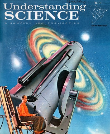 The illustration as it appeared as the cover for Understanding Science #71
