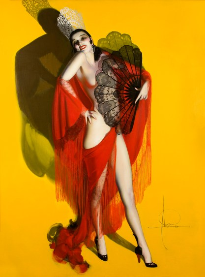 """""""Carmen"""" by Rolf Armstrong,"""