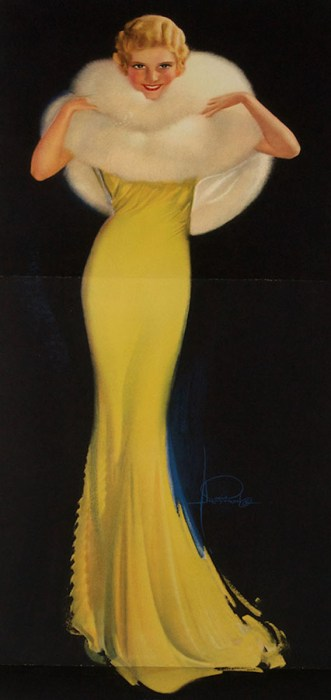"""""""Dazzling"""" by Rolf Armstrong (1930s)"""
