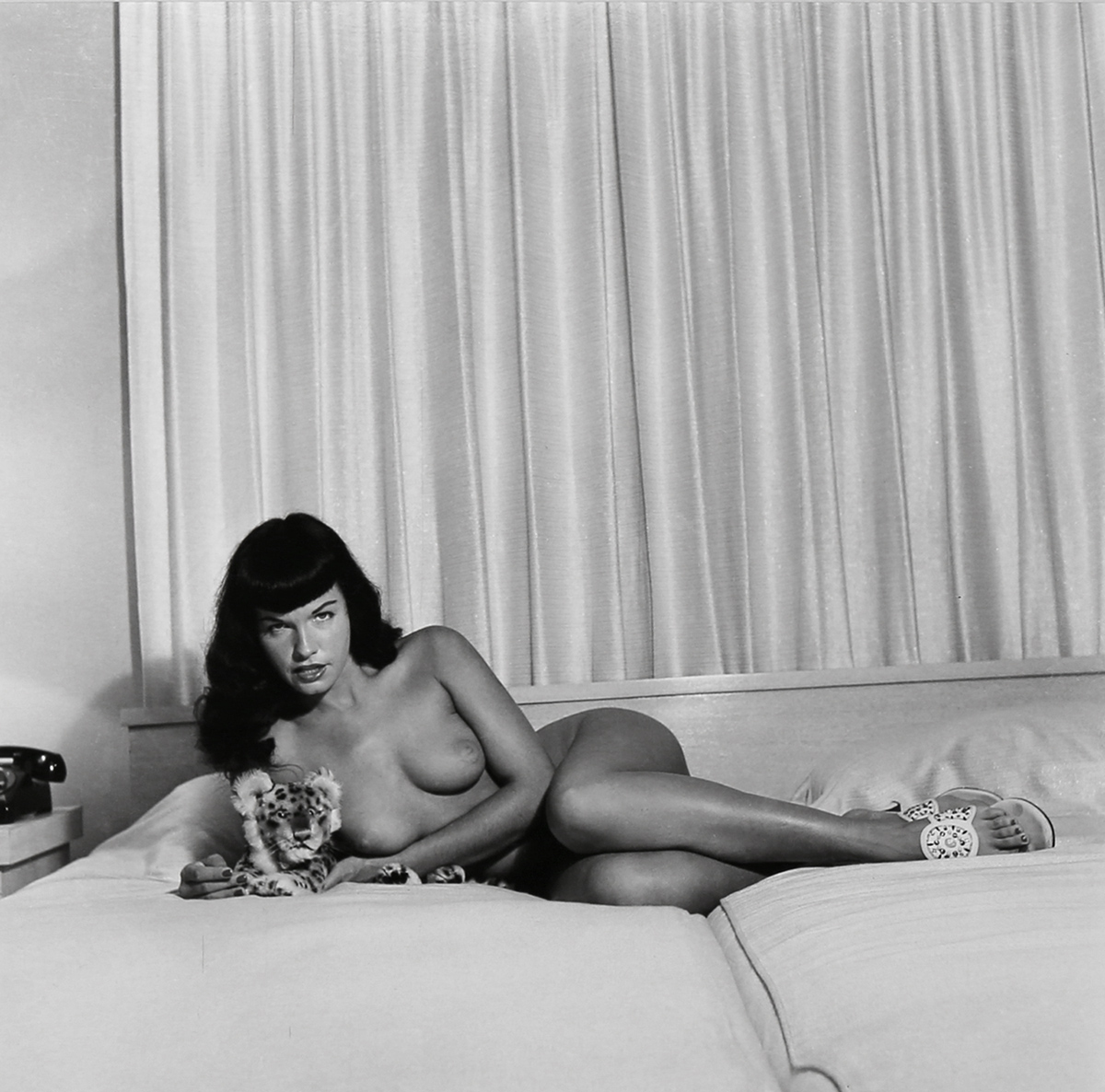 Speaking, bettie page nude outdoors really