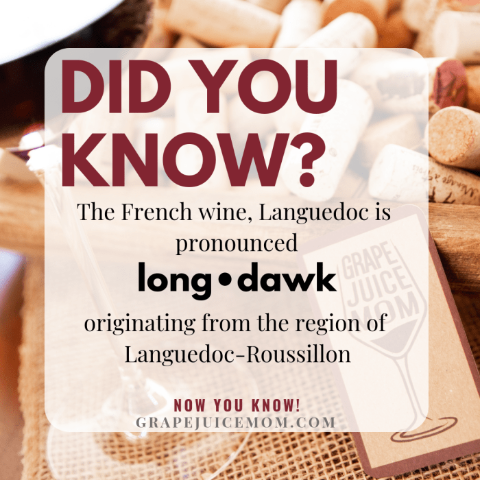 Did you know - Pronounce Languedoc