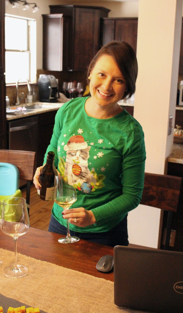 Jen Pouring Wines