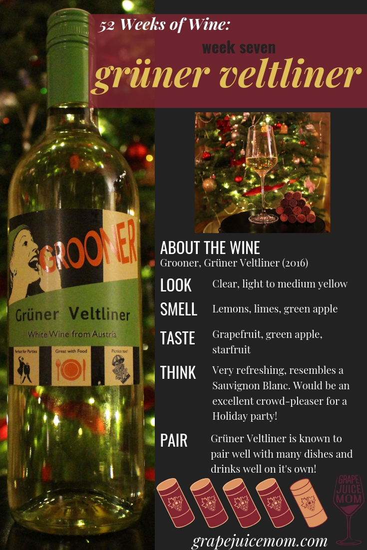 gruner veltliner white wine 52 weeks of wine