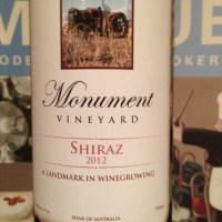 Monument Vineyard Cabernet Sauvignon 2011, Monument Vineyard Nebbiolo 2011 and Monument Vineyard Shiraz 2012