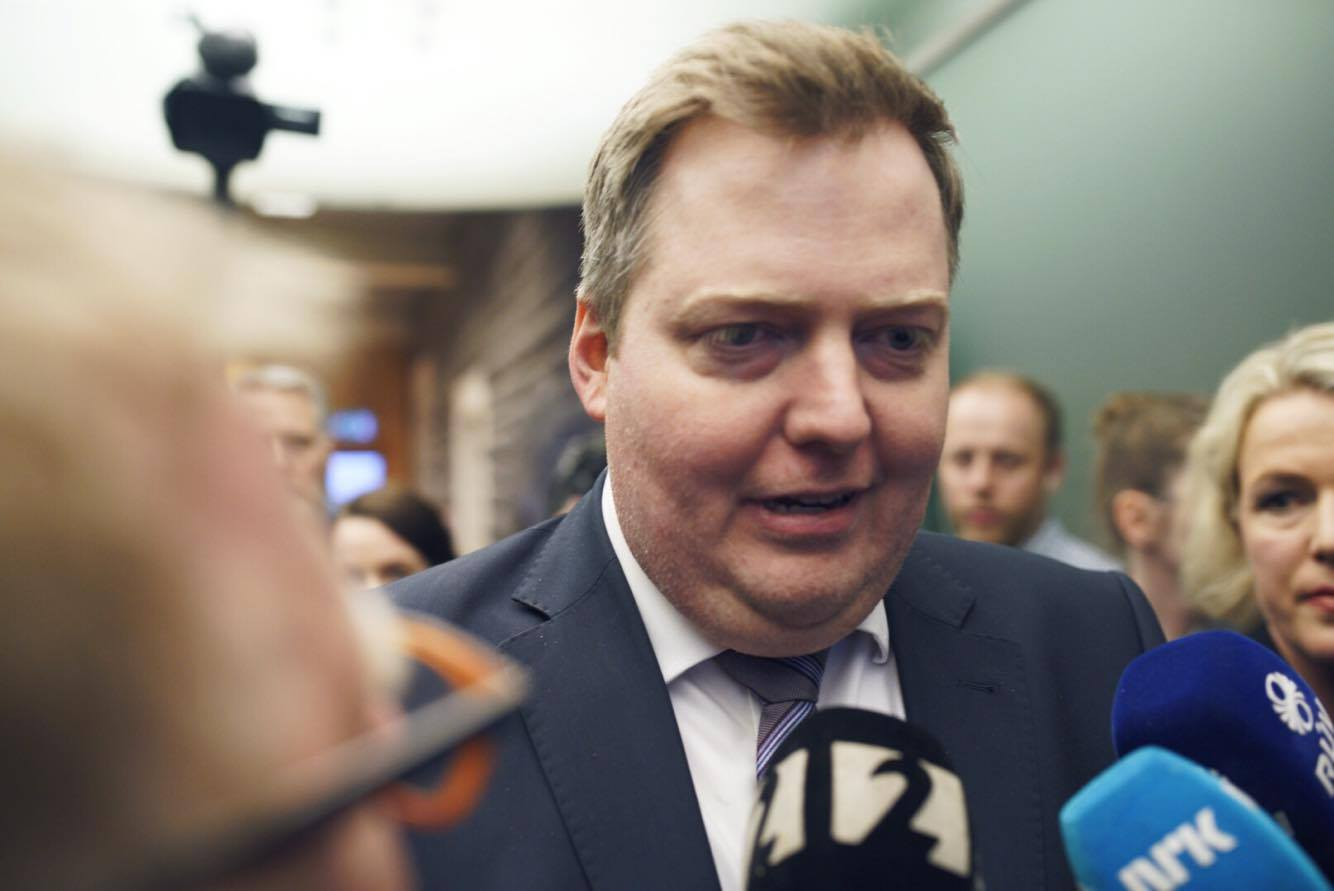 Sigmundur Davíð Attacks The Media (Again)