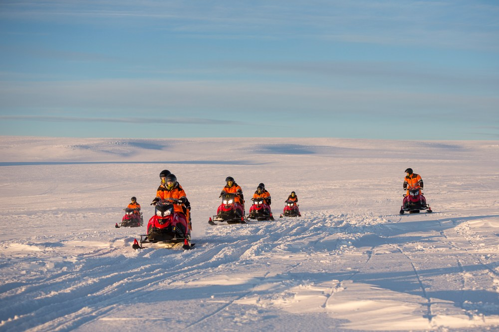 There And Back Again: Snowmobiling In The Land Of Mordor