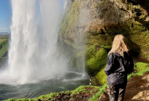 Walk Behind A Waterfall: A Trip To Seljalandsfoss