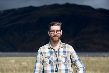 John Rogers at Þórsmörk