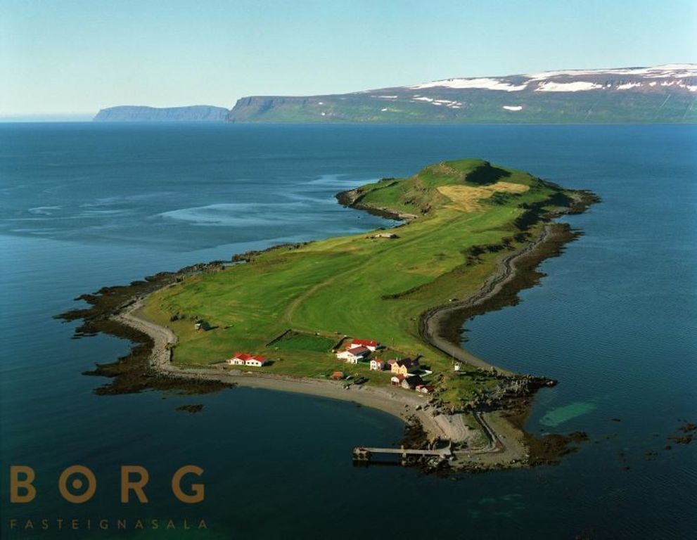 Vigur Island In The Westfjords Listed For Sale