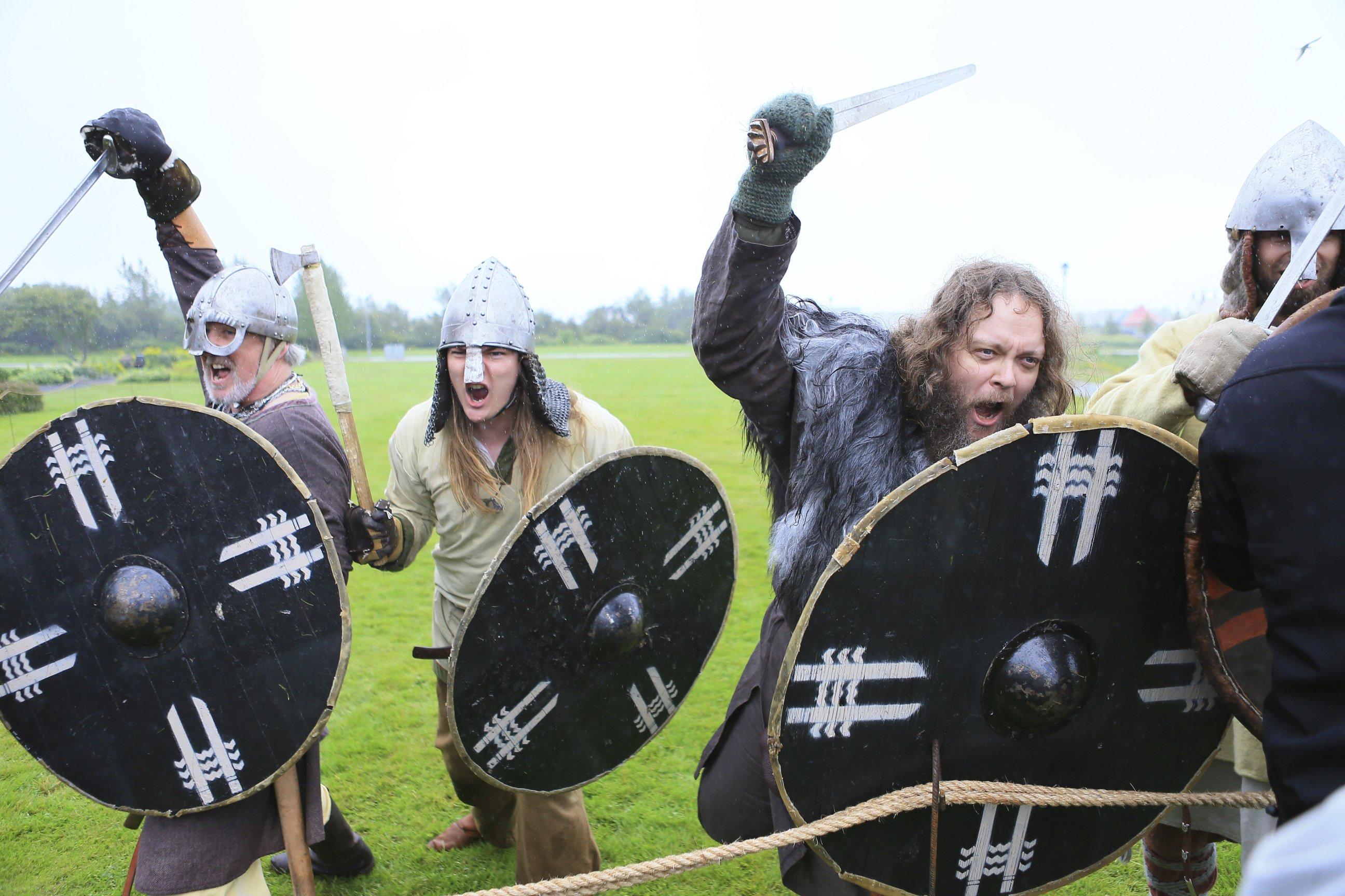 Viking Spirit: Charge Into The Einherjar Viking Organisation's Anniversary Festival