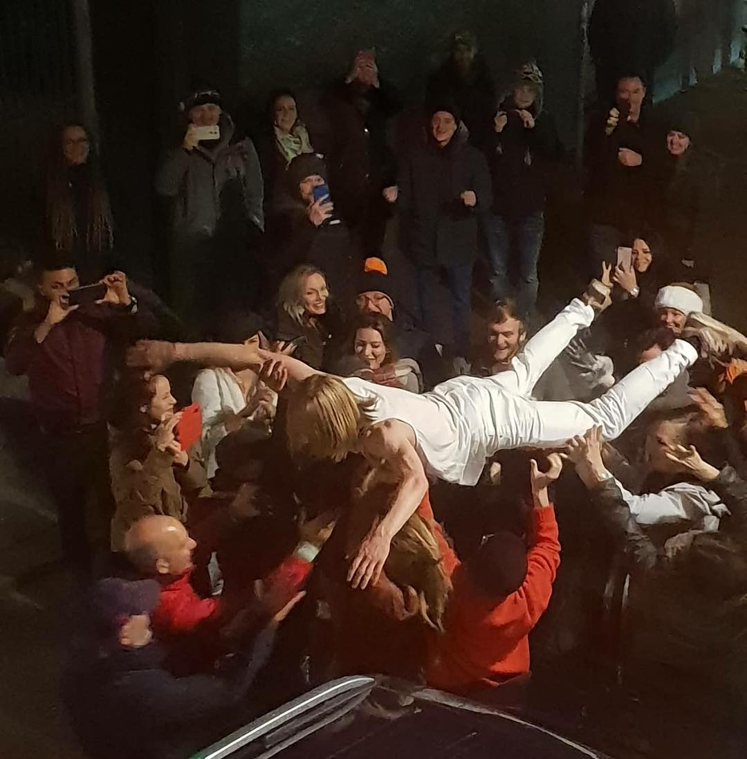 VIDEO: Icelandic Band Member Crowdsurfed Out Of Club And Back In Again