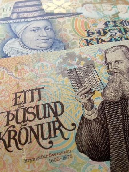 money, króna, currency